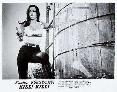 "Russ Meyer Faster Pussycat kill kill Movie Lobby Card Replica 11x14/"" Photo Print"