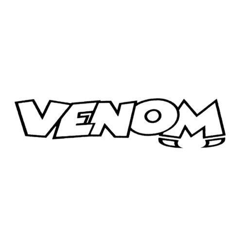 0013 Venom Merchandise Logo 70 mm x 70 mm light venstk