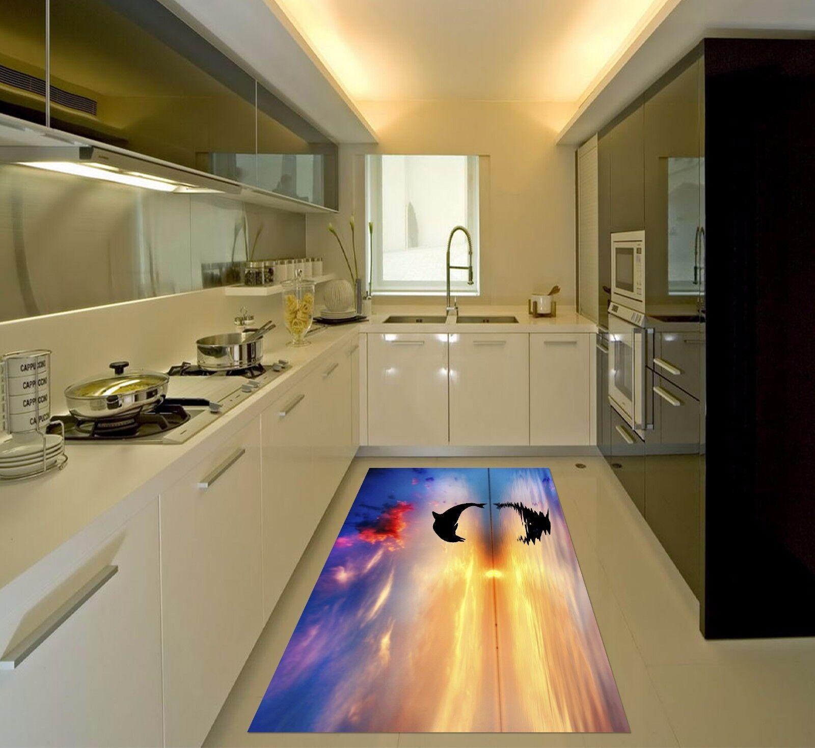 3D Sky Water 417 Kitchen Mat Floor Murals Wall Print Wall AJ WALLPAPER AU Kyra