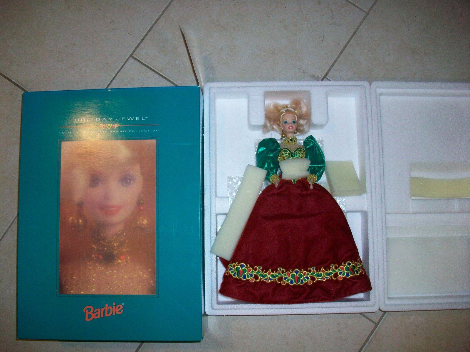 1995 Joya De Vacaciones Barbie de porcelana