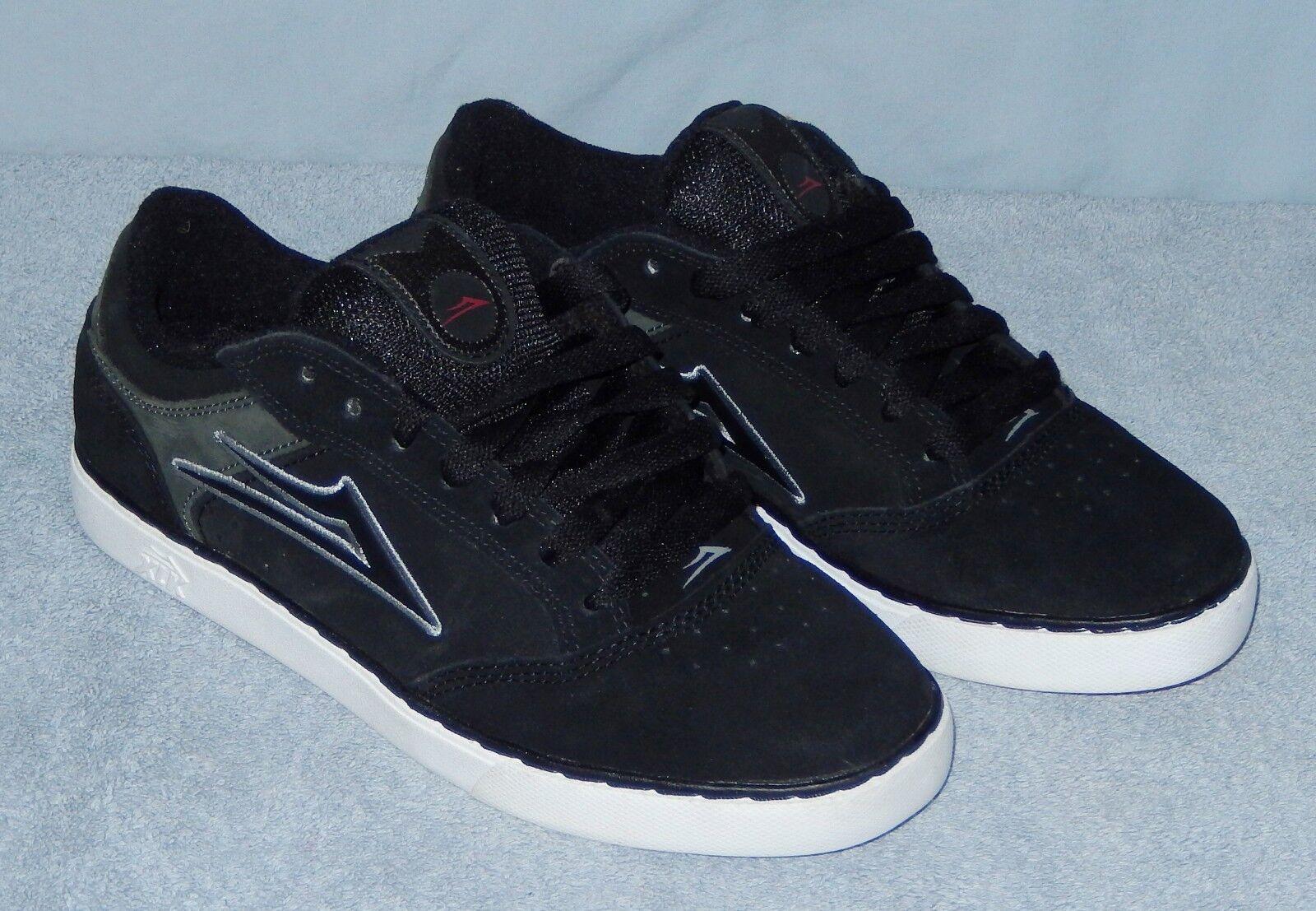 Lakai Mike Mo Skateboard Shoes Size 7 Black Suede