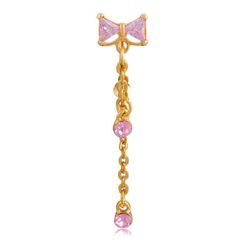 1pc Fashion cristal strass Belly Button anneau de nombril Bar Body Piercing Jewelry