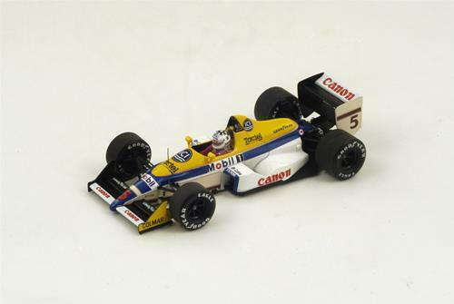 Williams Fw12 J-L-Schlesser 1988 N.5 11Th Italian Gp 1 43 Spark S4029