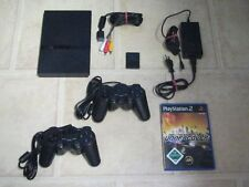 Playstation 2 Slim mit Zubehörpaket + 2 Controller + Need for Speed Undercover