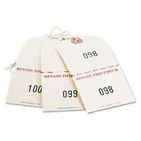Avery Extra Large Claim Checks 1-500 4 3/4 X 2 3/8 Manila 500/box 18670 on sale