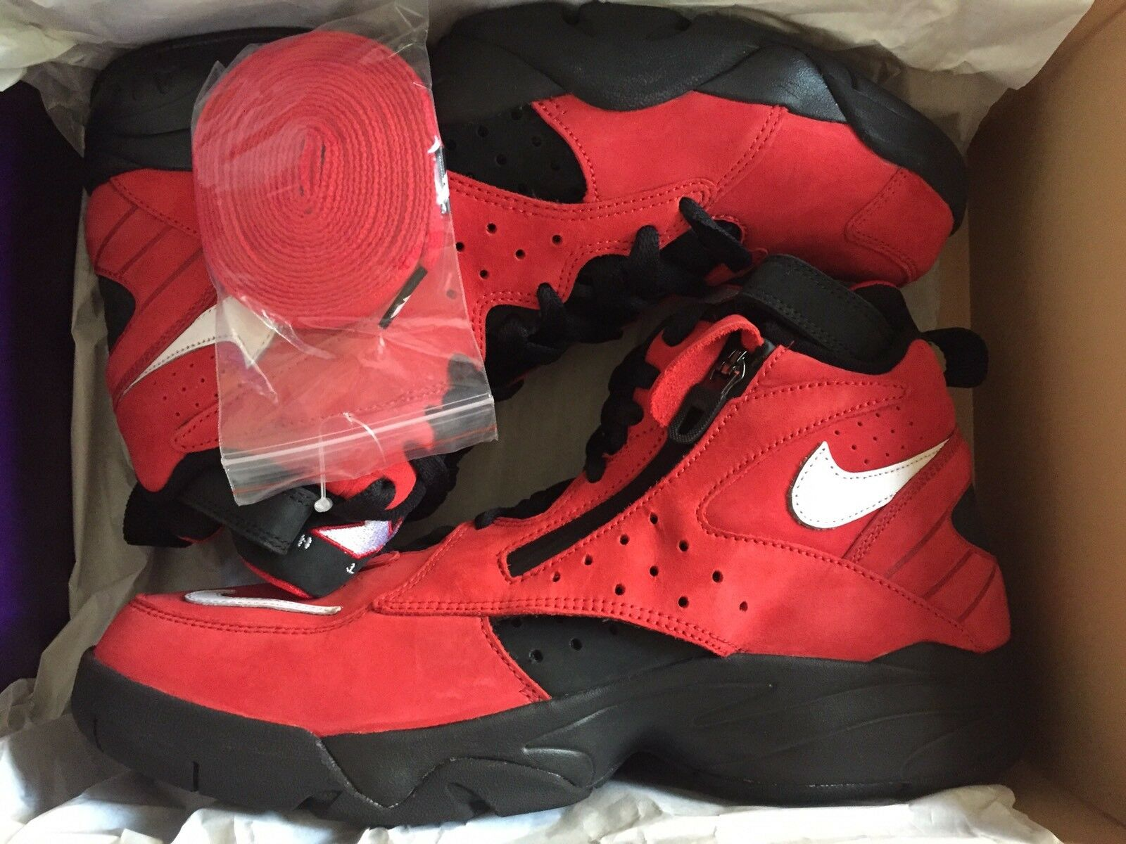 Kith X Nike Air Maestro 2 High Retro Scottie Pippen Size 9.5 100% Confirmed Red