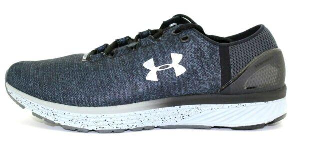 sports shoes fa26a a5d01 Under Armour Mens Charged Bandit 3 1298543-100 Gray/blk Men Sz 10 4e XWide  Eur44