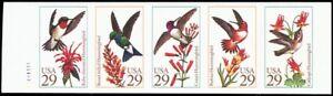 Stuart Katz Choice Materials Discreet 2646api Mnh Xf Imperforate Pane Of Five Bird Stamps Proof