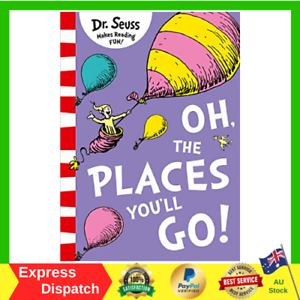 Oh-The-Places-You-039-ll-Go-by-Dr-Seuss-Paperback-Book-FAST-AND-FREE-SHIPPING-NEW