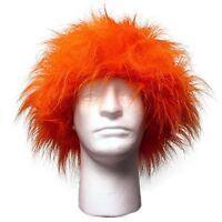 Sports Novelties Wig, Orange, New, Free Shipping