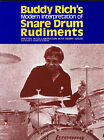 Buddy Rich's Interpretation of Snare Drum Rudiments by Faber Music Ltd (Paperback, 2006)