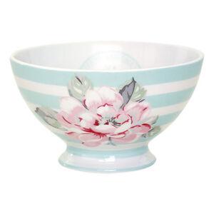 GreenGate-Floral-Ditte-Mint-Soup-Bowl