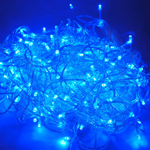 33 ft rgb led christmas party garden wedding string fairy tree color light strip blue ebay