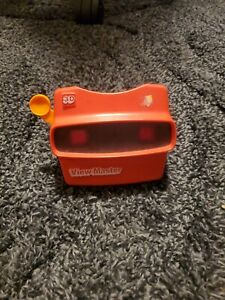 Vintage-Red-Viewmaster-3D-View-Master-Viewer-Toy-Tyco-Toys-Inc