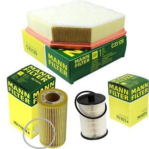 Mann-Filter-pacchetto-ARIA-OLIO-CARBURANTE-VOLVO-xc90-i-v70-II-p80-2-4-d5-AWD-D-SW