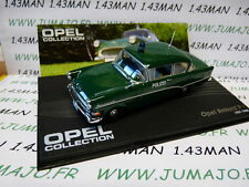 voiture 1/43 IXO eagle moss OPEL collection n°85 : REKORD PI polizei 1957/1960