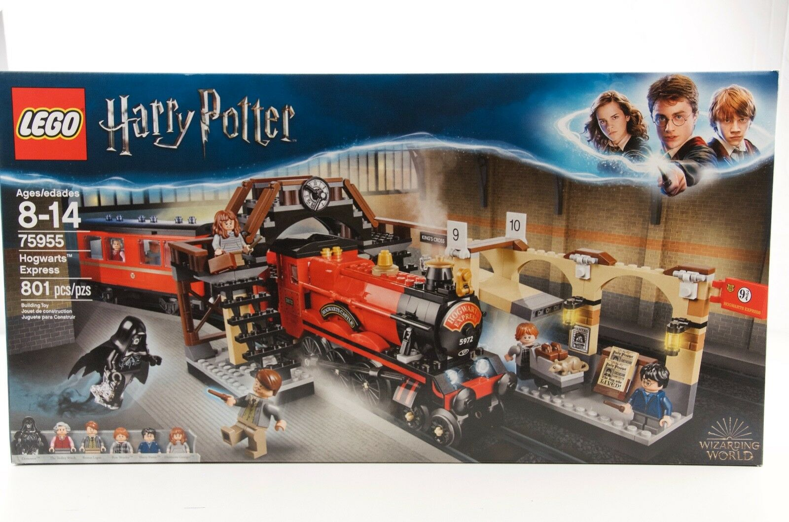 Lego, HARRY POTTER, 75955, Hogwart's Express, 801 PCS, Ages  8 & Up, NIB  nuovo stile