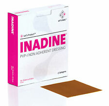 Inadine Dressing 9.5 x 9.5cm - 10 pack (iodine wound dressing)