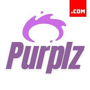Purplz-com-6-Letter-Short-Domain-Name-Brandable-Catchy-Domain-COM-Dynadot