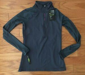 Details about $70 NEW Women's Nike Pro Hyperwarm Half Zip Women's Training S M L XL Top Jacket
