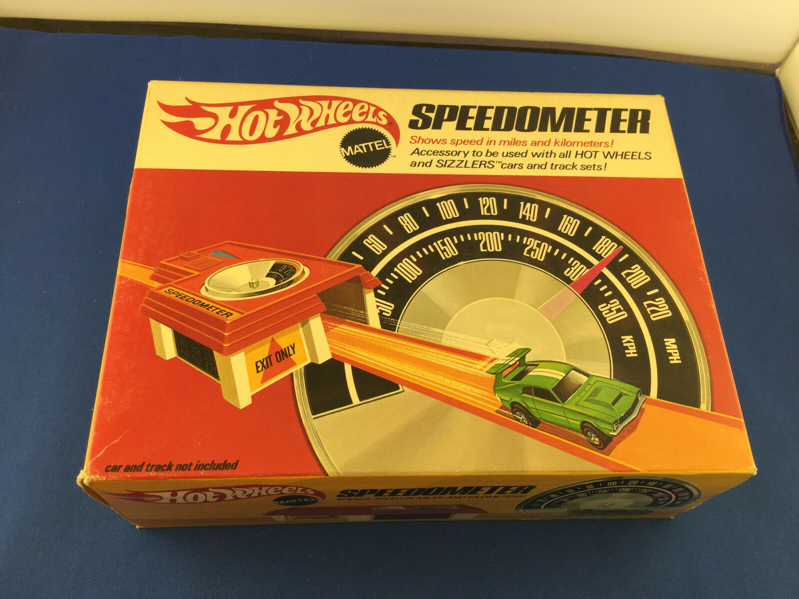 Vintage 1969 Mattel Hot Wheels Speedometer Sealed in Box