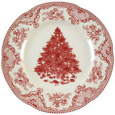 Johnson Brothers OLD BRITAIN CASTLES PINK CHRISTMAS Dinner Plate 5443242