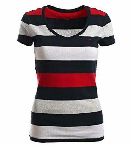 Tommy Hilfiger Damen V-Neck Shirt T-Shirt  all Sizes