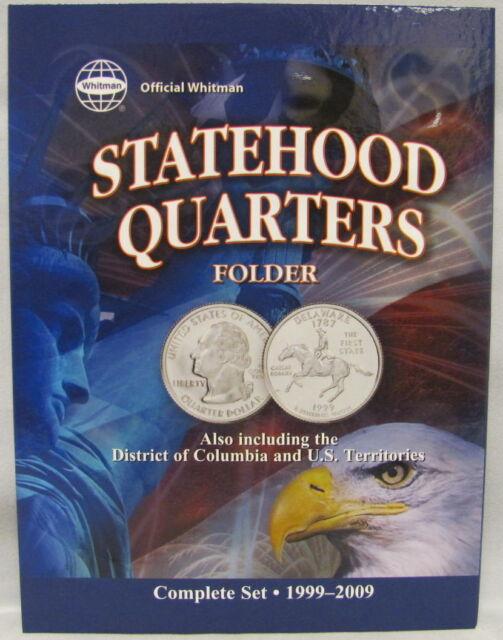 WHITMAN FOLDER - STATEHOOD QUARTERS / U.S. TERRITORIES 1999-2009 (#8097)