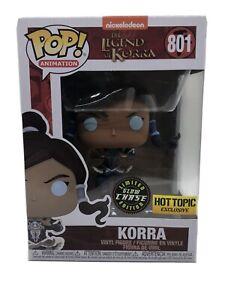 *With Protector* Korra GITD Hot Topic Exclusive Chase Legend of Korra Funko POP