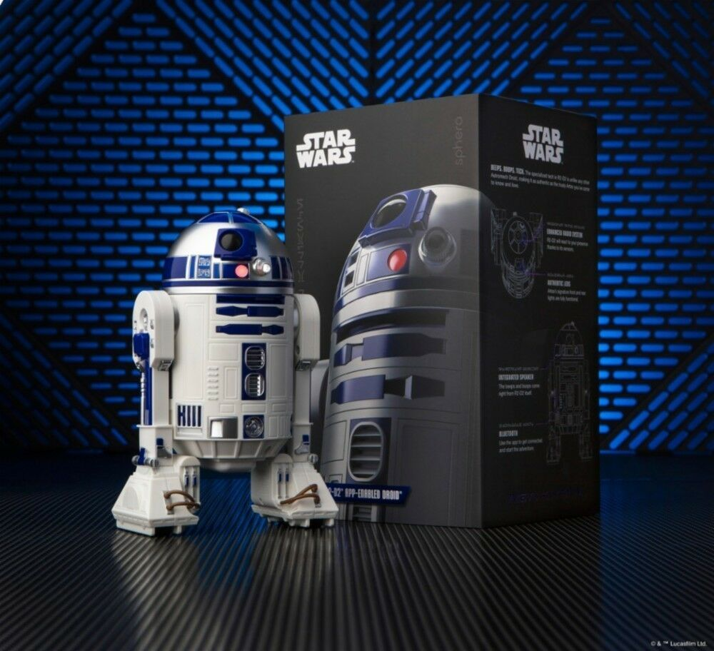 Star Wars The Last Jedi R2-D2 App-Enabled Droid by Sphero Sphero Sphero NEW  d31995