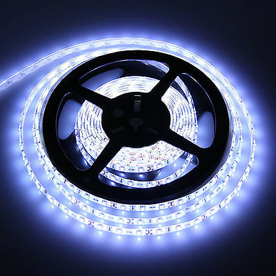 3528 5050 5630 5M 300SMD RGB Cool/Warm White LED Flexible Strip Light Waterproof