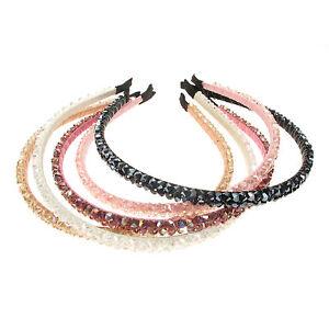 Crystal-Diamante-Alice-Band-Headband-Wedding-Bridal-Tiara-Hair-Accessories