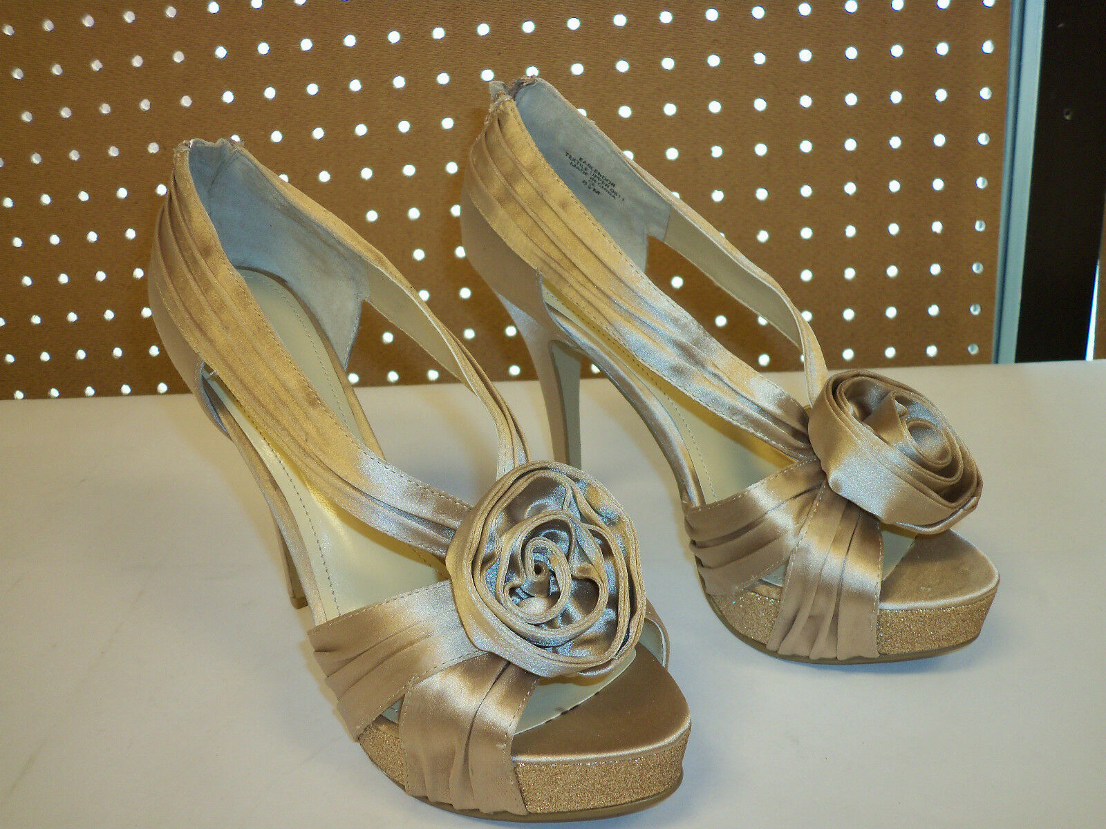 Enzo Angiolini New Womens 8.5 Slendor Open Toe Heels Shoes