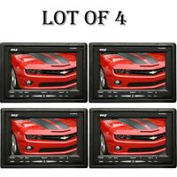 Lot Of (4) Pyle Plvhr75 7-inch High Resolution Tft Wide Screen Headrest Monitor on sale