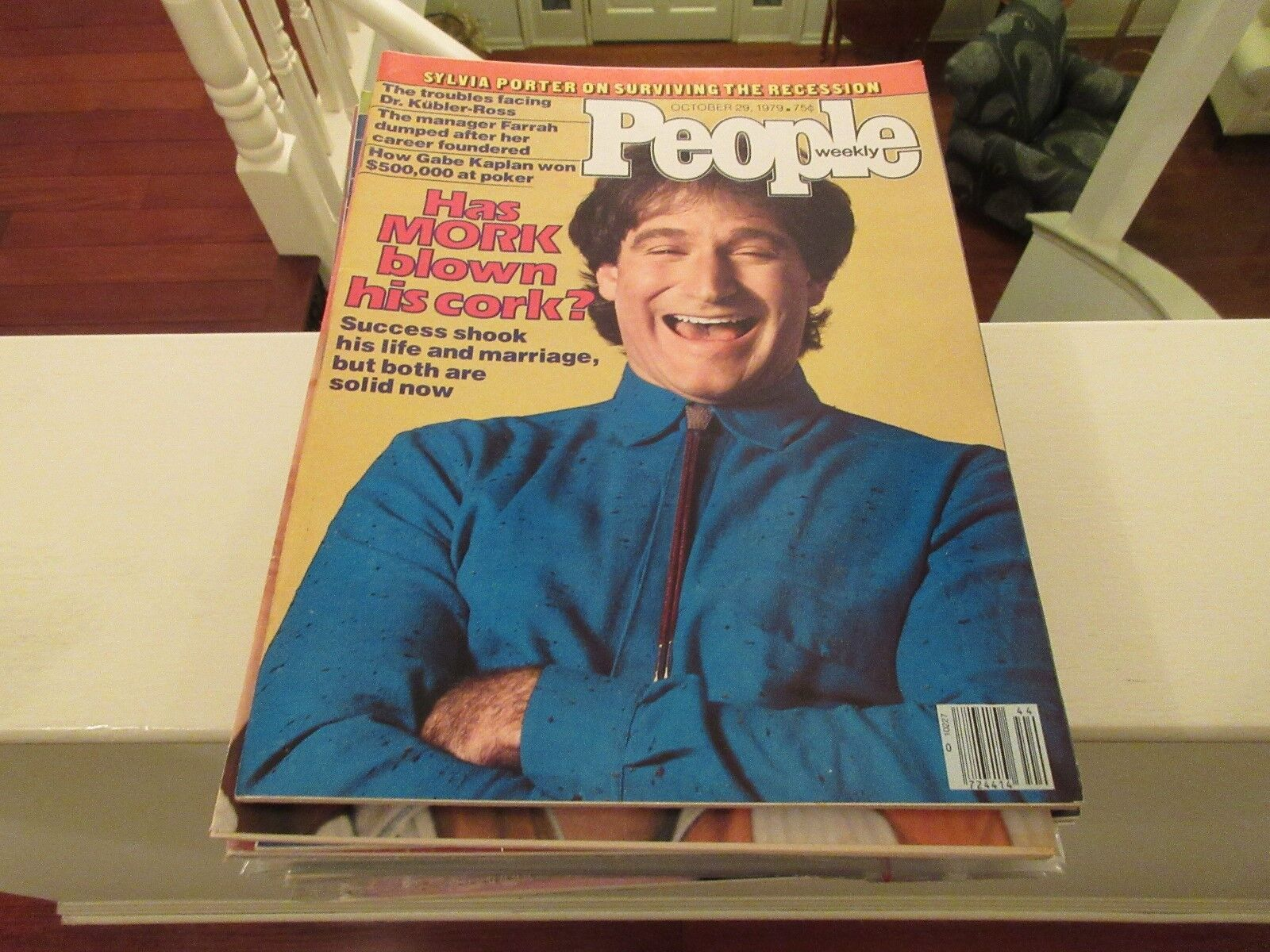 Robin Williams , People Magazine ,10/29/79 , Farrah , G