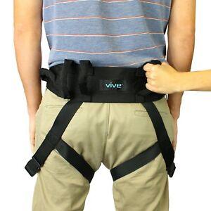 Transfer Belt Secure Leg Loops Medical Nursing Safety