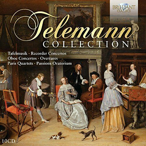 Various Artists-Telemann Collection CD NEUF