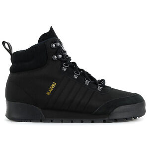 Adidas-Men-s-Jake-Boot-2-0-Triple-Black-Boots-B27749-NEW