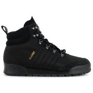 Adidas-Men-s-Jake-Boot-2-0-Triple-Black-Boots-B27749-NEW