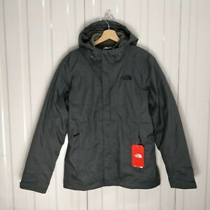 Alteo Imperméable Uk The Face New North Veste Mens Gris Triclimate Taille Petite wHv0gI0q