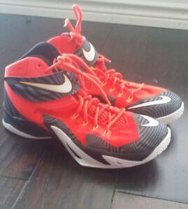 227ac569 La foto se está cargando Zapatos-Nike-Lebron-James-soldado-8 -Premium-Carmesi-