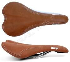Charge Spoon Bike Saddle Brown CrMo Rails Pressure Relief Lightweight Road MTB