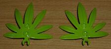 Lego 2 Blätter zum Klicken in lime grün