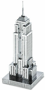 Empire-State-Building-16-Pieces-3D-Metal-Kit-Silver-Edition-Metal-earth
