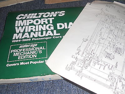 1984 1985 1986 TOYOTA PICKUP TRUCK WIRING DIAGRAMS ...