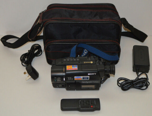 SONY Handycam CCD-TRV27E Video8 XR Video Camera Camcorder Recorder PAL & Case