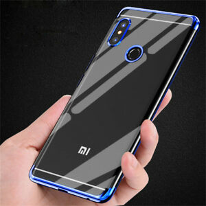 For-Xiaomi-Redmi-5-Plus-Note-4X-Shockproof-Plating-Rubber-Soft-Clear-Case-Cover