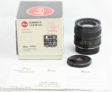 * EXC + * Leica Elmarit-R 90mm f2.8 1:2 .8/90 in ritardo E55 R6 R6.2 R8 R9 M240 DMR MP