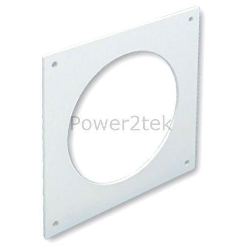 """Universal Hoover Asciugatrice Sfiato Kit 100 mm 4/"""" Presa di gravità Bianco Nuovo"""