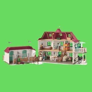 Schleich 42416 Großer Pferdehof mit Wohnhaus und Stall  NEU OVP, Kleinkindspielzeug
